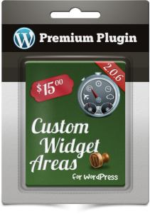 Premium Plugins Custom Widget Areas for WordPress