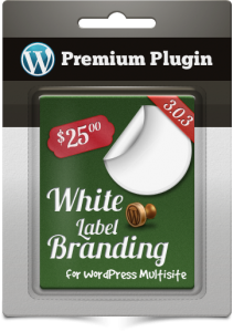Premium Plugin White Label Branding for WordPress Multisite