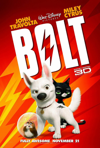 Disney Pixar Bolt