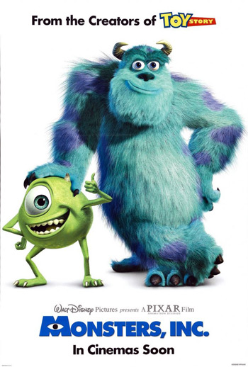 Disney Pixar Monsters Inc.