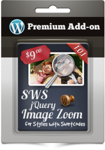 Premium Add-on SWS jQuery Image Zoom