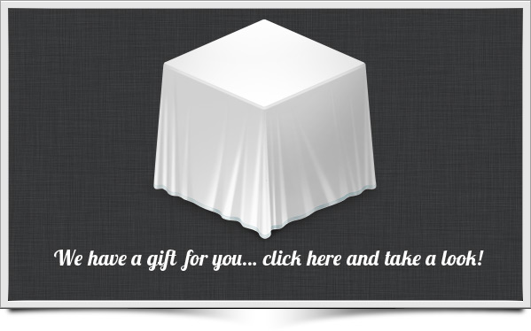 We have a gift for you... click here and take a look!