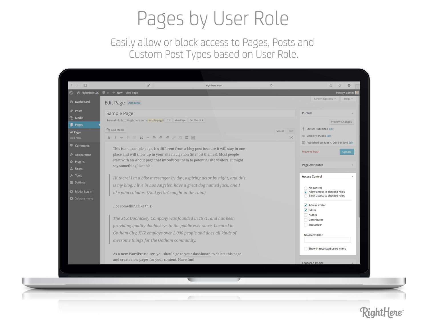 pages-by-user-role-for-wordpress001