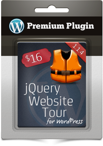 Premium Plugin jQuery Website Tour for WordPress