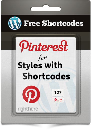 Free Downloadable Content - Pinterest for Styles with Shortcodes