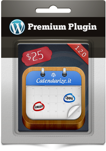 Premium Plugin Calendarize It! for WordPress