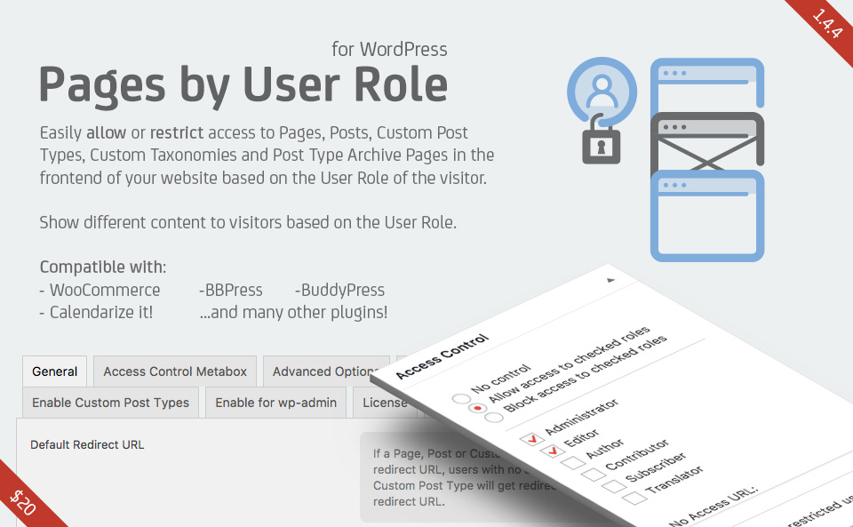 Pages by User Role - RightHere LLCRightHere LLC