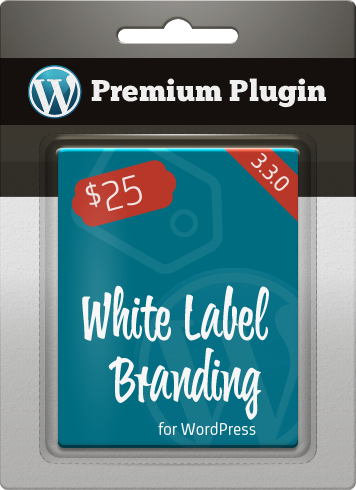 Premium Plugin White Label Branding for WordPress