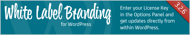 White Label Branding for WordPress - Enter your license key and get updates from within WordPress admin