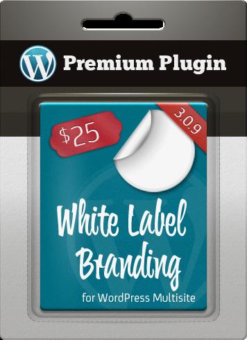 Premium Plugin White Label Branding for WordPress Multisite