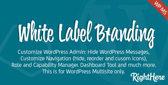 White Label Branding for WordPress Multisite