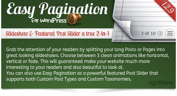 Easy Pagination for WordPress