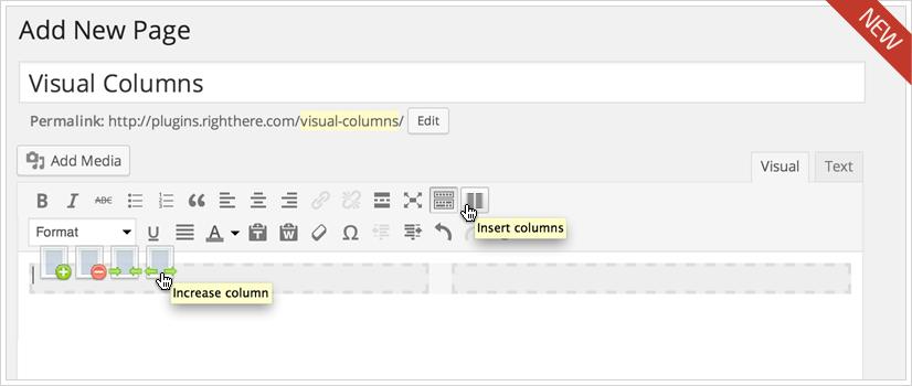 Visual Columns for WordPress