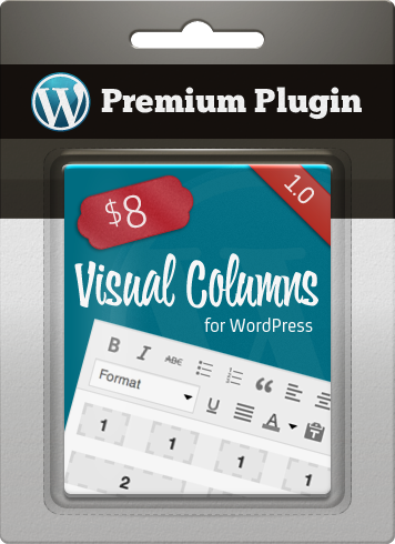 Premium Plugin Visual Columns for WordPress